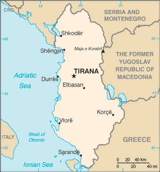 albania photos, flag, map and travel information
