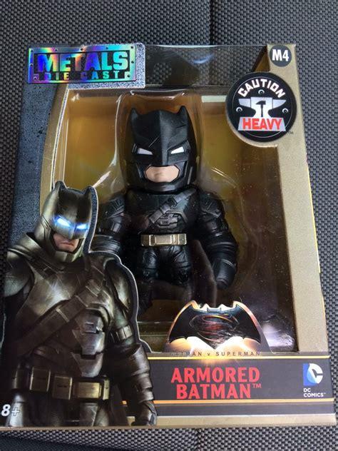 Armored Batman Metal Die Cast M4 toys batman v superman metals die cast figures found the toyark news