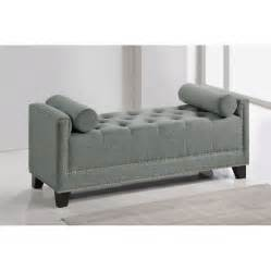 Gray Bedroom Bench Hirst Grey Bedroom Bench Rcwilley Image1 800 Jpg
