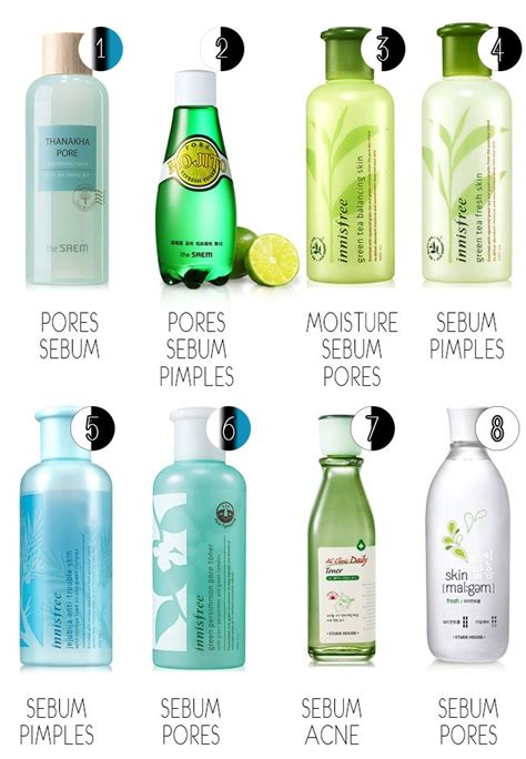 Top 10 Products For Combination Skin by The Best Korean Products For Combination Troubled