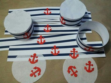 How To Fold A Sailor Hat Out Of Paper - diy sailor hats baby shower