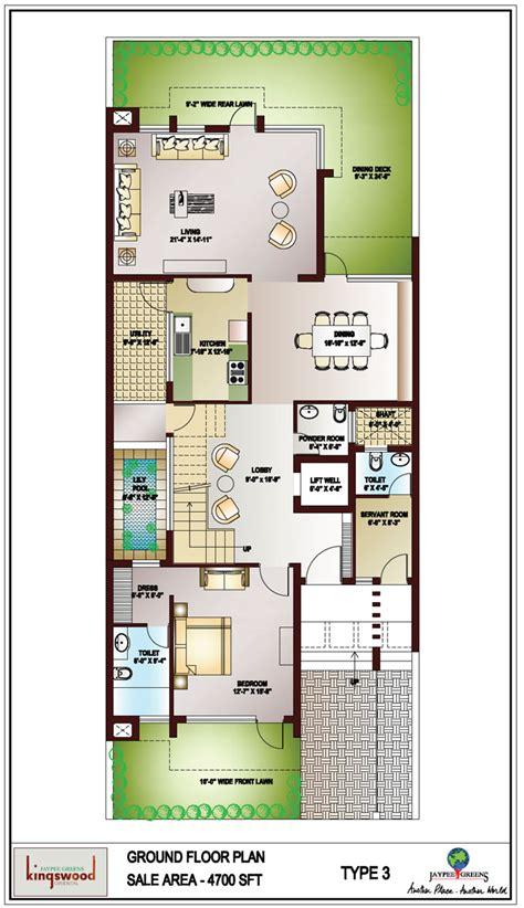 2828 ground floor plan kingswood noida jaypee greens kingswood jaypee greens noida