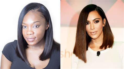 kim kardashian curly bob kim kardashian lob long bob asymmetrical hair cut