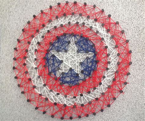 String Arts - diy string tutorial 10 steps with pictures