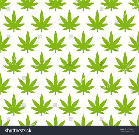 simple pattern leaves cannabis plant seamless pattern simple stylized marijuana