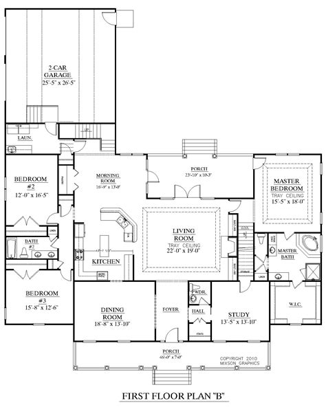floor plans for house houseplans biz house plan 3027 b the brookgreen b