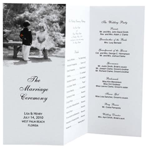 Tri Fold Fall Wedding Programs Todayjunkyyu Over Blog Com Free Tri Fold Wedding Brochure Templates