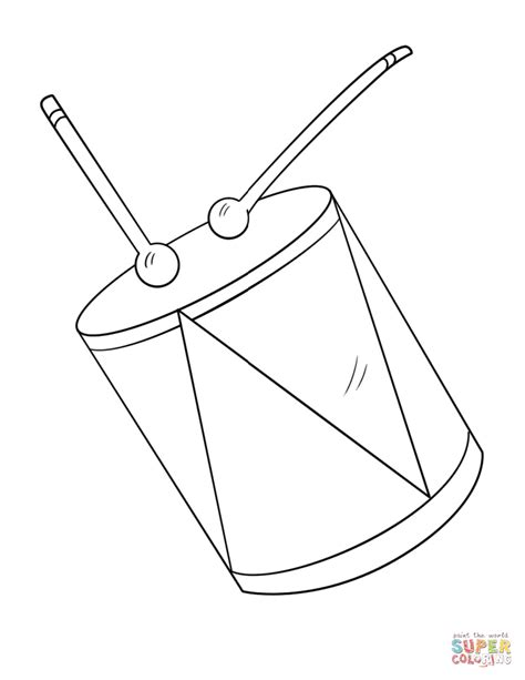 drum template snare drum coloring page coloring pages