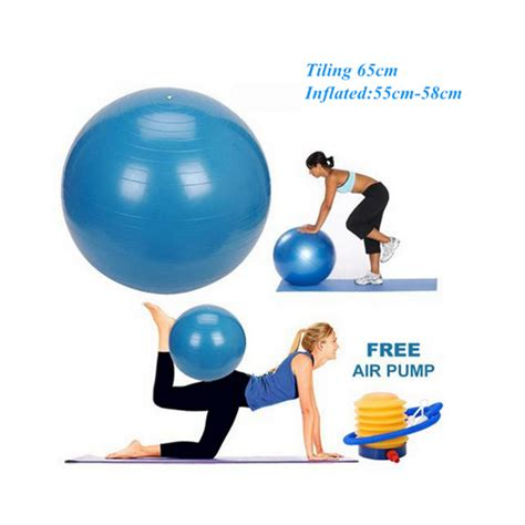Bonus Pompa Bola Fitness pilates bola beli murah pilates bola lots from china pilates bola suppliers on aliexpress