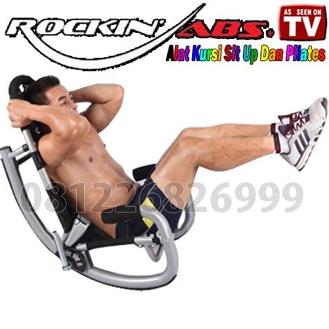 New Sit Up Bench Alat Fitnes Seperti Kettler rockin abs alat sit up dan pilates indo home shopping