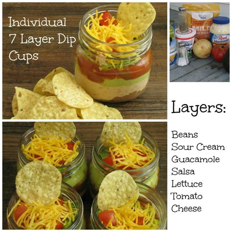 individual 7 layer dip cups frugal upstate