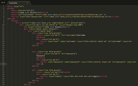 membuat database dengan codeigniter membuat sistem login logout codeigniter dengan database