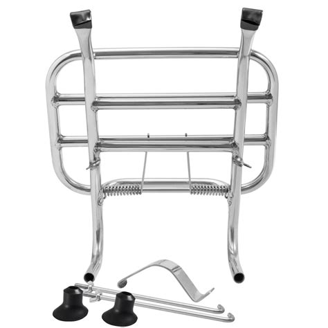 Front Carrier Rack vespa tsr stainless steel front rack carrier gts 125 250