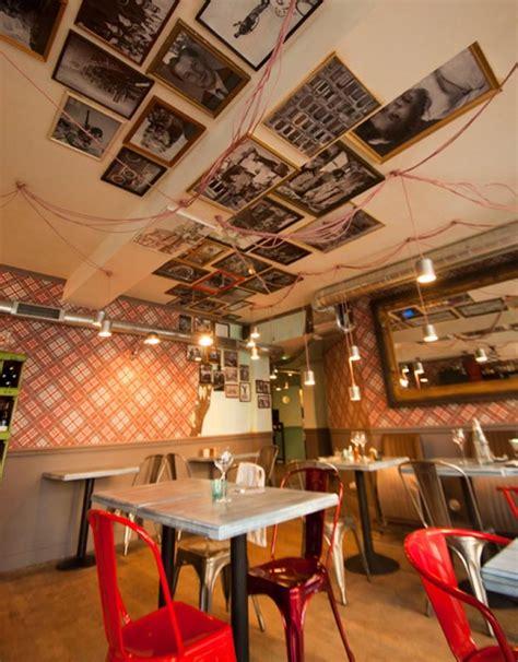 Design Restaurant bistrot restaurant vintage industriel 224 la d 233 coration