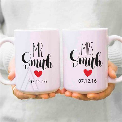 couple gifts, wedding gifts for couples, his and hers mugs