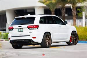 Srt 8 Jeep Out Jeep Srt8 On Vossen Wheels