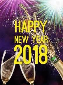 luxury new year card 2018 birthday greeting cards by davia