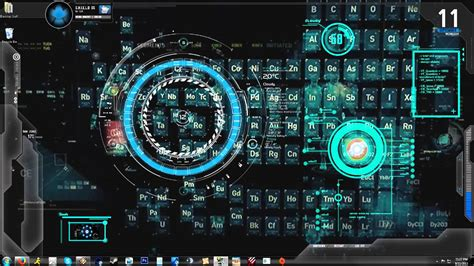 iron man jarvis  animated backgrounddesktop youtube
