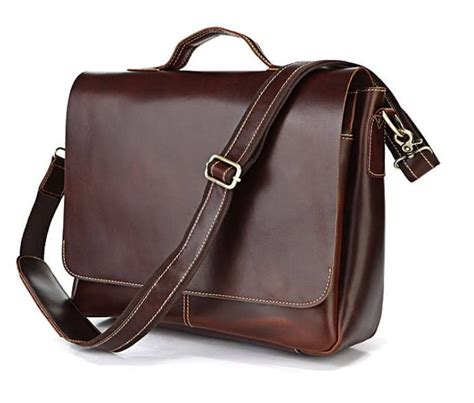 laptop bags leather leather laptop bag for leather flapover briefcase bagswish