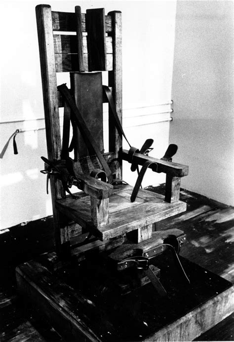Electric Chair Execution Photos by A Glance At The Five Execution Methods Allowed Today Aol
