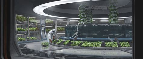 design concept green house artstation aquaponics luke berliner