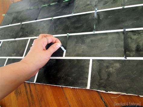 how to sponge paint a tile backsplash paint tiles tile and paint painted backsplash slate subway tiles