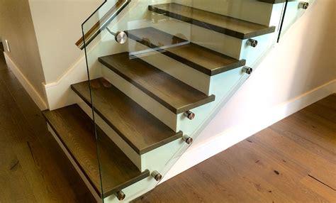 hardwood made stair treads   Carpet, Laminate, Vinyl