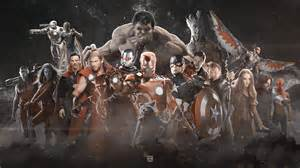 Infinity Wars Marvel The Infinity War Wallpaper By Muhammedaktunc On