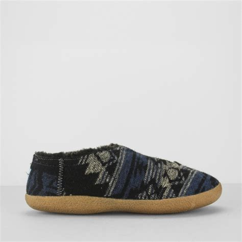 House Slippers Navy Toms House Slipper Mens Winter Slippers Navy House