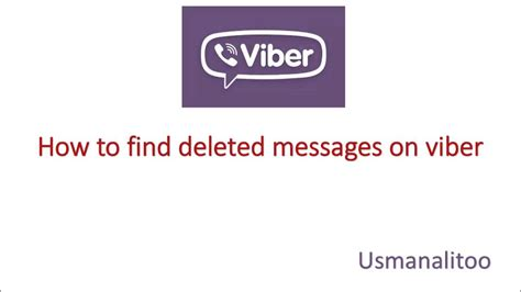 How To Find In Viber Solved How To Find Deleted Messages On Viber Free Easy