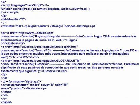 imagenes de fondo html codigo c 243 digo html para web monografias com