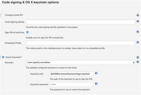design form xcode 使用jenkins自动构建ios项目