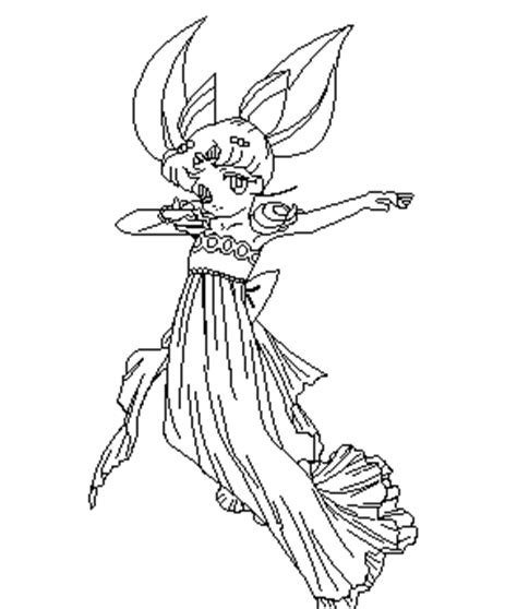 Dancing Rini Coloring Page By Paramourphoenix On Deviantart General Jumping Coloring Books