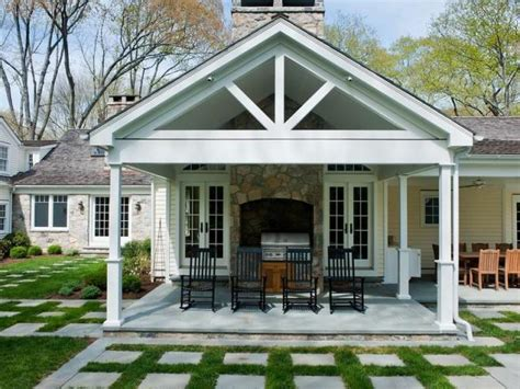 Waterfront Home Design Ideas covered porch hooked on houses
