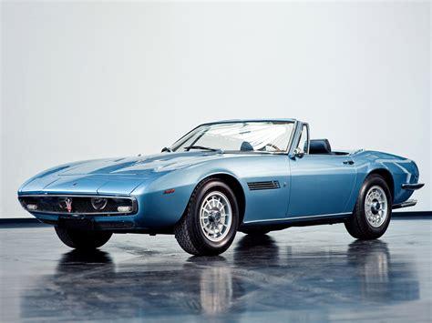 1969 Maserati Ghibli by 1969 73 Maserati Ghibli Spyder Supercar Classic R