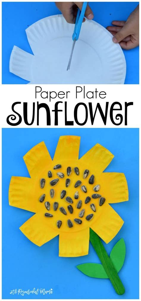 Craft Work With Paper Plate - crafts paper and kid on