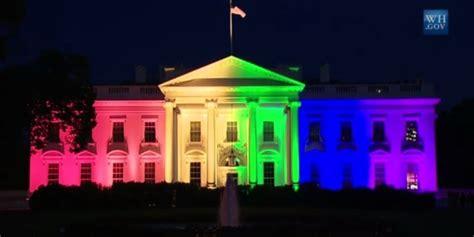white house facebook mariage gai l effet arc en ciel de la maison blanche aux r 233 seaux sociaux vid 201 o