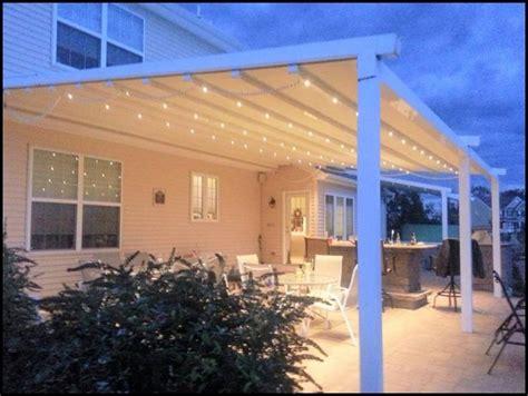 awning lighting ideas best 25 retractable pergola ideas on pinterest