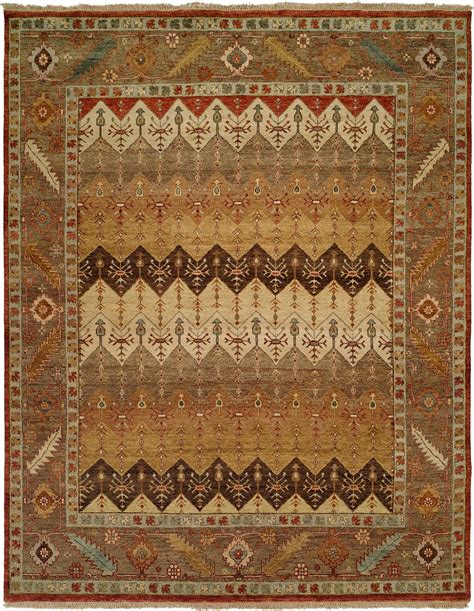 Brown Rust And Tan Multi Colored Area Rug Rust Colored Area Rugs