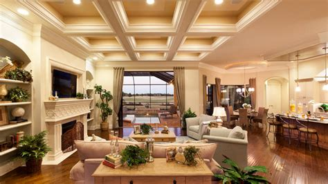 Traditional Ceiling Design 15 Beautiful Traditional Coffered Ceiling Living Rooms