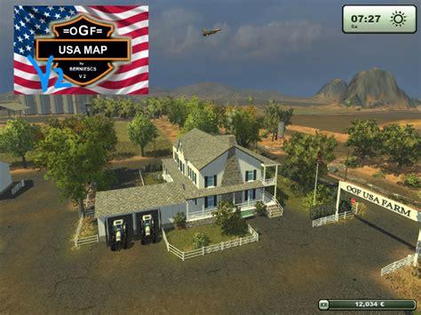 map usa farming simulator 2013 545492