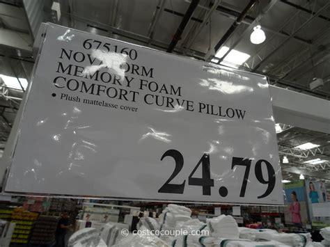 novaform memory foam comfort curve pillow