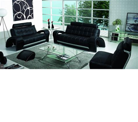 Bentley Sectional Leather Sofa Dreamfurniture Bentley Contemporary Bonded Leather Sofa Set