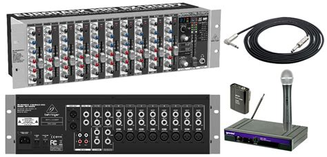 Mixer Audio Behringer 12 Channel behringer rx1202fx pro audio dj 12 channel rack mount fx