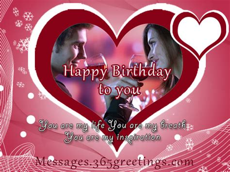 Happy Birthday Wishes In For Lover Romantic Birthday Wishes 365greetings Com