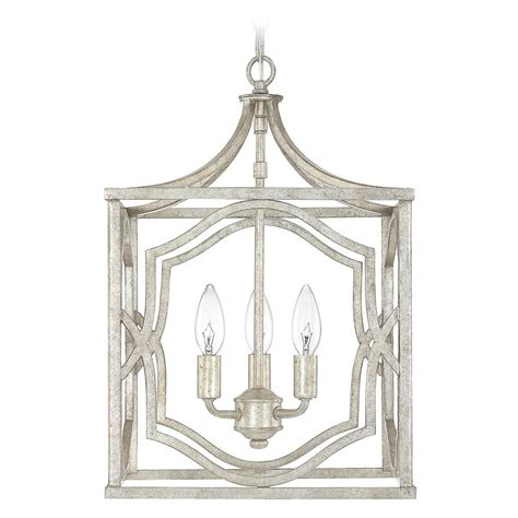 Antique Silver Pendant Lights Capital Lighting Blakely Antique Silver Pendant Light 9481as Destination Lighting