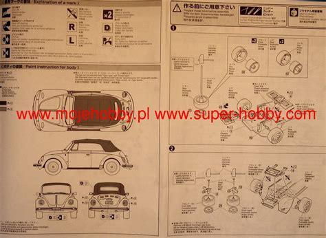Volkswagen Beetle 1303s Cabriolet75 Aoshima volkswagen beetle 1303s cabriolet 75 package renewal model do sklejania aoshima 04779