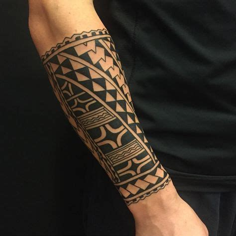 tribal tattoos around arm collection of 25 tribal polynesian on forearm