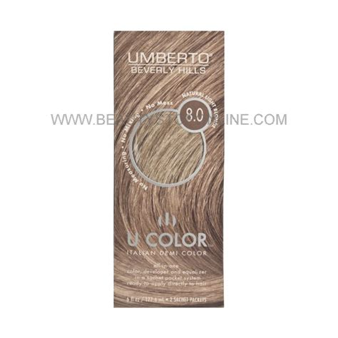 umberto hair color umberto u color light 8 0 stop