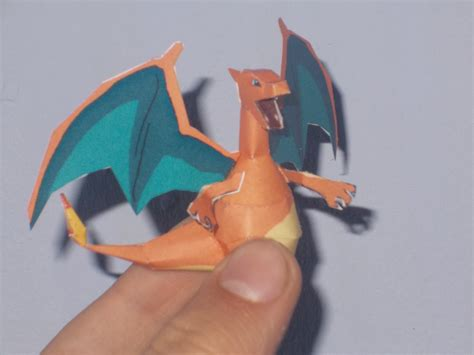 Mini Paper Craft - mini charizard papercraft by sabi996 on deviantart